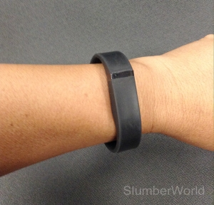 Fitbit Flex syncs via bluetooth to your mobile device.