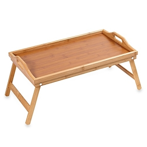 Wooden tray from Bed Bath and Beyond