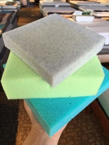 Stack of Mem Foam